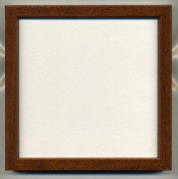 画像1: [8940] 額 5767歩7 150角(内径14cm×14cm) ブラウン