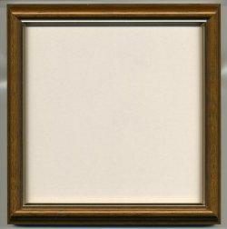 画像1: [8939] 額 5702魁2 15cm角(内径14cm×14cm) ブラウン 日本製
