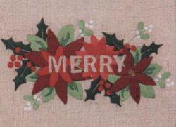 画像1: [8982] Anchor Freestyle Embroidery Kit MERRY