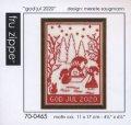 "[9007] fru zippe クリスマスキット ""god jul 2020"" 品番:70-0465"