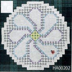 画像1: [9293] アトリエ・エミーナ ハーダンガー刺しゅうキット HA00202