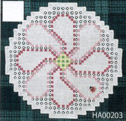 画像1: [9294] アトリエ・エミーナ ハーダンガー刺しゅうキット HA00203