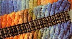 画像1: [0157] DMCパールコットン5番糸 色番号48-400番台