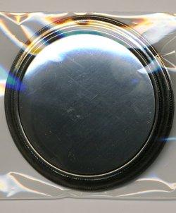 画像1: [3456] ブローチ台 丸 シルバー BP-534