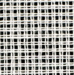 画像1: [0676] ニードルポイント ダブルキャンバス 5.2目 白