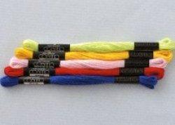 画像1: [0552] コスモ刺しゅう糸25番糸 【よりどり12束:スペシャルプライス】